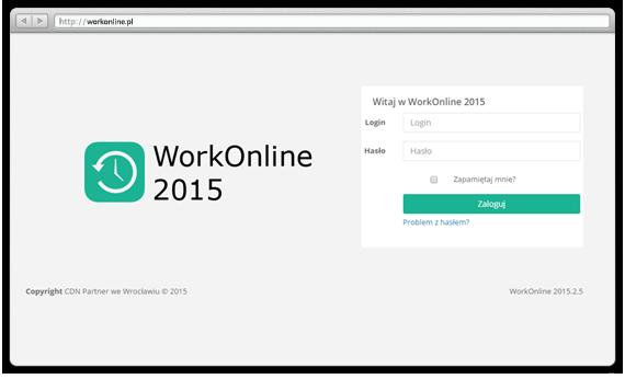 WorkOnline - Logowanie